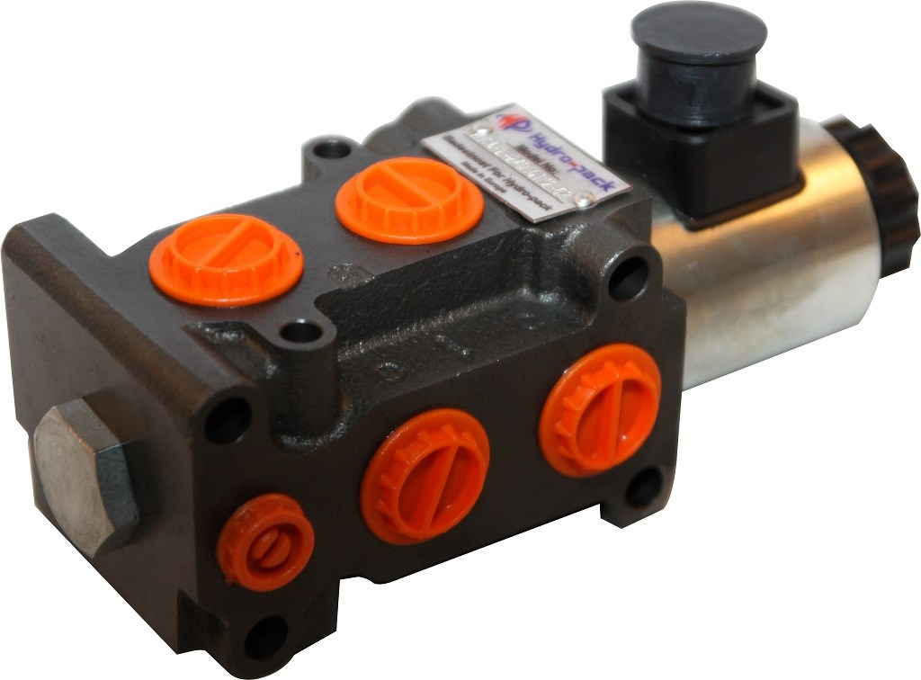 Hydraulic Directional Control Valve - DVS6 1/2'' - 12 V